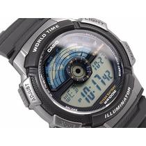 Relógio Cassio Word Time Iluminator - Pronta Entrega