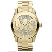 Relógio Michael Kors Mk5706 Dourado Com Cristal Frete Grátis