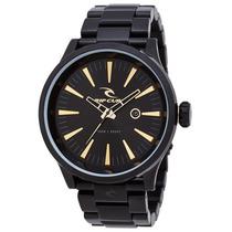 Relógio Rip Curl Recon Xl Midnight Gold A2851 Detroit Preto