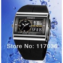 Relógio Sport Ohsen Digital / Analógico Prova Dágua