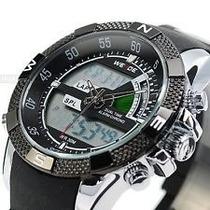Relógio Sport Weide Militar Led Digital Analógico Wh-1104-1