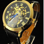 Relógio Pulso Movimento Mecânico Automático Shenhua Skeleton