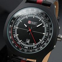 Relógio Militar Military Royale Aviador Mr071 C/ Datador