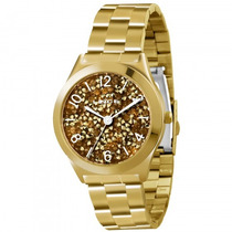 Relógio Lince Lrg4277l M2kx Feminino Dourado - Refinado