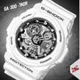 Relógio Masculino Esportivo Branco G-shock Original Ga300