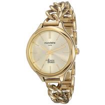 Relógio Feminino Mondaine - Pulseira De Metal - 69231lpmvdm1