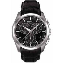 Relógio Tissot T-trend Couturier T035.617.16.051 Couro Preto