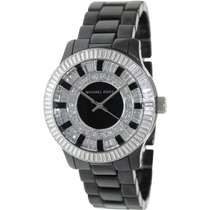 Relógio De Luxo Michael Kors Mk5362 Analógico Black Cerâmica