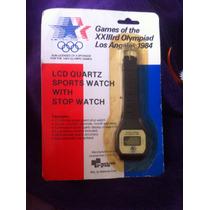 Raro Relógio Oficial Das Olimpíadas De 1984 Dos Estados Unid