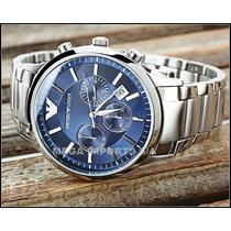 Relógio Ar2448 Novo Com Manual +certificado+etiqueta Armani