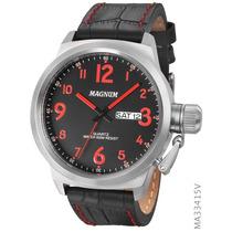 Relógio De Pulso Magnum Masculino Ma33415v Original