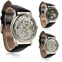 Relógio Winner Skeleton Automático Importado Luxuoso