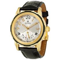 Bulova Accutron Ouro Yellow 18k Executive Class De$3.990 Por