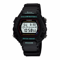 Relógio Casio Classico Dw-290 Alarme Cronometro Wr-200