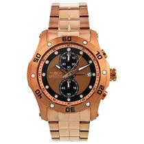 Relógio Invicta Signature Gold 18k Cronograph De $1880 Por
