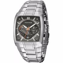 Relógio Technos Sports Os20hw/1l Prata Pulseira Aço Inox Nfe