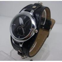 Relógios Com Estampa Coelhinho Playboy Com Bateria Extra
