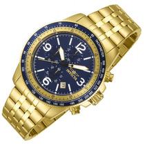Invicta Specialty 13966 48 Mm Dourado Banhado Em Ouro
