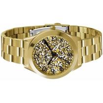 Relógio Feminino Lince Dourado (orient) Lrg4277l Marrom