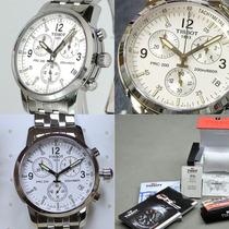 Relógio Tissot Prc200 Preto Branco Azul Original Prc-200