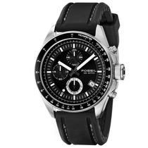 Relógio Fossil Decker Fch2573/z Aço Inoxidável Puls Borracha