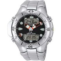 Relógio Citizen Aqualand Jp 1060-52e Pulseira Aço Em Vitória