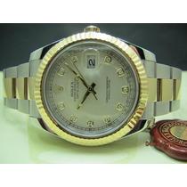 Date Just Aço/ouro - Dial Diamantes