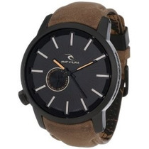 Relógio Rip Curl Detroit Leather Midnight Tan Couro