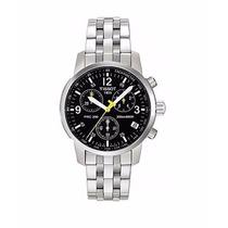 Relógio Tissot Prc200 - Prc 200 Preto - Original Completo