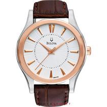 Relógio Bulova Dress Leather 98a119