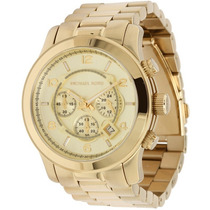 Relógio Michael Kors Mk8077 Dourado Gold