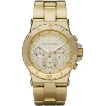 Relógio Michael Kors Mk5463 Dourado Original, Com Garantia.