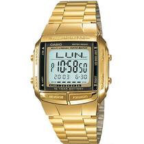 Relógio Casio Db-360g-9a Luxoso Dourado Leve Resistente