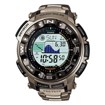 Relogio Casio Protrek Prg-250 T Titanio Barometro Altim 200m