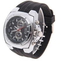 Relógio Quartz V6 - Silver Steel