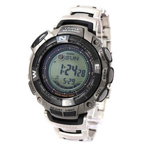 Casio Protrek Prg-130t Bateria Solar Barômetro, Termômetro