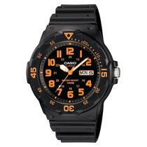 Relógio Casio Mrw200h-4bv 100 M Leve Elegante Charmoso
