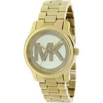 Relógio Michael Kors Mk5786 Dourado Midsize Frete Grátis.