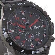 Relógio Curren C/ Calendário Original Pronta Entrega
