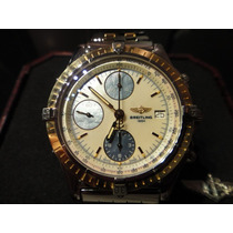Breitling Chronomat 40mm Madri-pérola Aço/ouro
