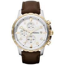 Relógio Fossil Dean Leather Fs4788
