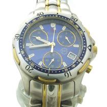 Relógio Balance Geneva Chronograph Em Aço Inoxidável J10831