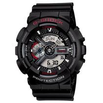Relógio Casio G-shock Ga-110 1a Wr-200 5 Alarme Hora Mundial