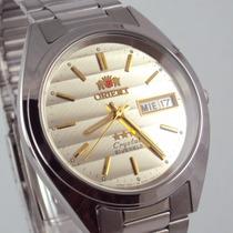 Relogio Orient Crystal 21 Automatico Novo Original !