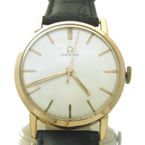 Relógio De Pulso Omega Masculino Em Ouro Rose 18k J10860