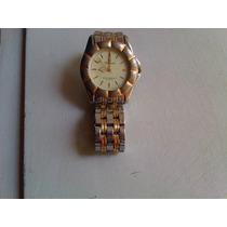 Relógio Champion Feminino Dourado Original Cromado Pulso