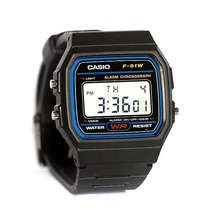 Casio Digital Casio F-91w-1dg Retrô Vintage