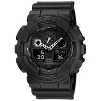 Relógio Casio G-shock Ga-100 1a1 Wr200 5 Alarme Hora Nf-e