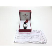 Relógio Swiss Military Hanowa Pulseira Em Couro Preto