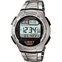 Relógio Casio W-734 D-1 Memória 60 Voltas 5 Alarmes 100m Aço